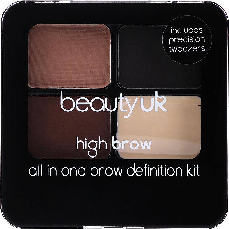 Eyebrow Modeling Set - Beauty UK High Brow and Eyebrow Kit