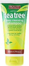 "Fragrances, Perfumes, Cosmetics Hair Shampoo ""Tea Tree"" - Beauty Formulas Tea Tree Deep Cleansing Shampoo"