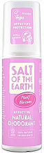 Fragrances, Perfumes, Cosmetics Natural Deodorant Spray - Salt of the Earth Peony Blossom Spray