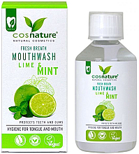 Fragrances, Perfumes, Cosmetics Lime & Mint Mouthwash - Cosnature
