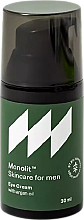 Fragrances, Perfumes, Cosmetics Eye Cream with Argan Oil - Monolit Skincare For Men Eye Cream With Argan Oil