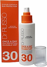 Fragrances, Perfumes, Cosmetics Moisturizing Sun Spray - Dr. Russo Once A Day SPF30 Sun Protective Invisible Mist