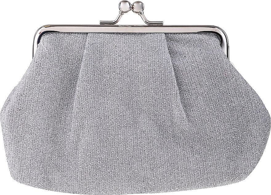 "Makeup Bag ""Twinkle"" 98703, silver - Top Choice — photo N1"