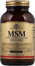 "Fragrances, Perfumes, Cosmetics Dietary Supplement ""MSM"", 1000mg - Solgar MCM (Methylsulfonylmethane)"