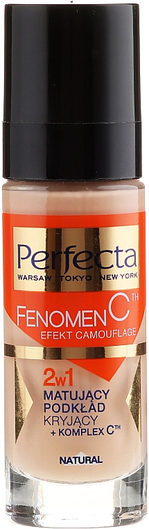 Foundation 2 in1 - Perfecta Make-Up Fenomen C