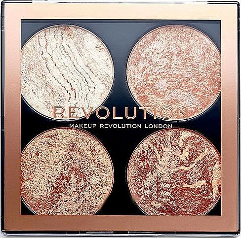 Contour Palette - Makeup Revolution Cheek Kit