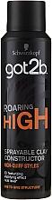 Fragrances, Perfumes, Cosmetics Modeling Hair Clay Spray - Schwarzkopf Got2b Roaring High Sprayable Clay Constructor