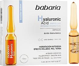 Fragrances, Perfumes, Cosmetics Hyaluronic Acid Ampoule - Babaria Hyaluronic Acid Ampoule