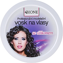 Fragrances, Perfumes, Cosmetics Hair Wax - Bione Cosmetics Professional Hair Wax Silicone