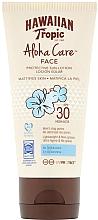Fragrances, Perfumes, Cosmetics Facial Sun Protective Lotion SPF30 - Hawaiian Tropic Aloha Care Protective Lotion SPF30