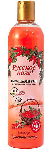 "Strengthening & Hair Growth Bio Shampoo ""Red Pepper"" - Russkoye Pole"