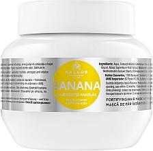 Fragrances, Perfumes, Cosmetics Strengthening Hair Mask with Banana Extract - Kallos Cosmetics Banana Mask