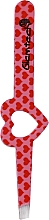 Fragrances, Perfumes, Cosmetics Brow Tweezer, pink with red hearts - Glamtech Valentines Tweezer