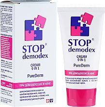 "Fragrances, Perfumes, Cosmetics Cream ""Pure Derm 9 in 1 Stop Demodex"" - PhytoBioTechnology Stop Demodex"