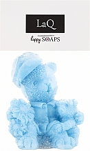"Fragrances, Perfumes, Cosmetics Handmade Natural Soap ""Two Teddy Bears"", sky blue - LaQ Happy Soaps"