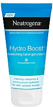 Fragrances, Perfumes, Cosmetics Hand Cream - Neutrogena Hydro Boost Quenching Hand Gel Cream