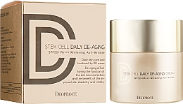 Fragrances, Perfumes, Cosmetics Anti-Aging Sun DD Cream - Deoproce Stem Cell Daily-aging Cream