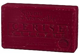 "Fragrances, Perfumes, Cosmetics Natural Soap ""Cherry"" - Le Chatelard 1802 Soap Cherry"
