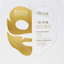 Fragrances, Perfumes, Cosmetics Dead Sea Minerals Face Mask - Sefiros Bio-Lifting Gold Mask