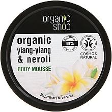 "Fragrances, Perfumes, Cosmetics Body Mousse ""Bali Flower"" - Organic Shop Organic Ylang-Ylang & Neroli Body Mousse"