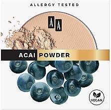 Fragrances, Perfumes, Cosmetics Mattifying Face Powder - AA Acai Powder