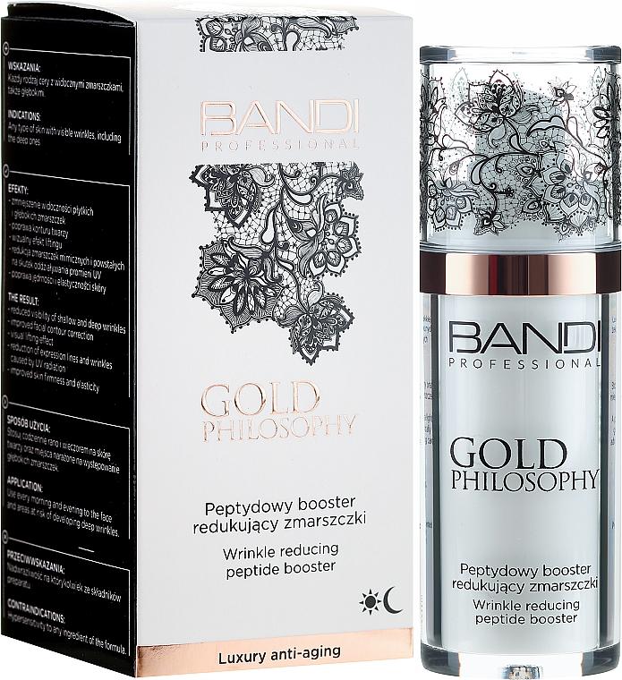 Anti-Wrinkle Peptide Booster - Bandi Professional Gold Philosophy Wrinkle Reducing Peptide Booster