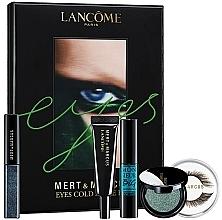 Fragrances, Perfumes, Cosmetics Set - Lancome Eyes Cold As Eyes Kit Blue (eye/sh/4.5ml + eye/sh/2g + lashes/2szt + glue/1g + mascara/8ml)