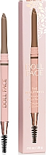 Fragrances, Perfumes, Cosmetics Brow Pencil - Doll Face The Sculptress Chiseled Brow Pencil