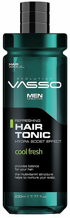 Refreshing Menthol Hair Tonic - Vasso Professional Vasso Hair Tonic Cool Fresh — photo N1