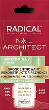 Fragrances, Perfumes, Cosmetics Concentrate Nail Architect - Farmona Radical Nail Architect