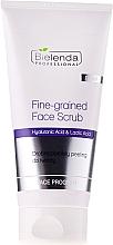 Fragrances, Perfumes, Cosmetics Fine-Grained Face Scrub - Bielenda Professional Face Program Fine-grained Face Scrub