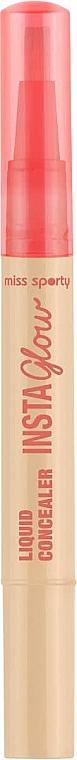 Liquid Face Concealer - Miss Sporty Insta Glow Liquid Concealer