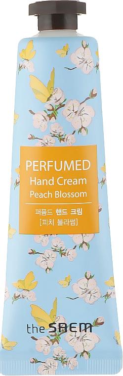 """Perfumed Hand Cream """"Peach Blossom"""" - The Saem Perfumed Peach Blossom Hand Cream"""