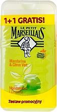 "Fragrances, Perfumes, Cosmetics Set ""Mandarin & Lime"" - Le Petit Marseillais (sh/gel/250ml + sh/gel/250ml)"