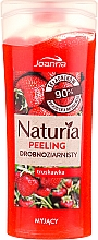 "Fragrances, Perfumes, Cosmetics Fine-Grained Shower Peeling ""Strawberry"" - Joanna Naturia Peeling"