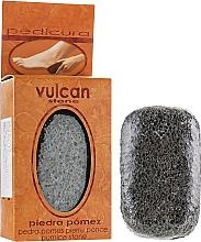 Fragrances, Perfumes, Cosmetics Pumice, 98x58x37mm, dark grey - Vulcan Pumice Stone