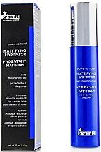 Fragrances, Perfumes, Cosmetics Moisturizing Mattifying Pore-Shrinking Gel - Dr. Brandt Pores No More Mattifying Hydrator Pore Minimizing Gel