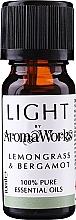 """Fragrances, Perfumes, Cosmetics Essential Oil """"Lemongrass & Bergamot"""" - AromaWorks Light Range Lemongrass and Bergamot Essential Oil"""