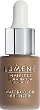 Fragrances, Perfumes, Cosmetics Bronzer Fluid - Lumene Invisible Illumination Watercolor Bronzer