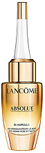 Fragrances, Perfumes, Cosmetics Anti-Aging Concentrated Serum with Rose Extract - Lancome Absolue Repair Bi-Ampoule Concentrated