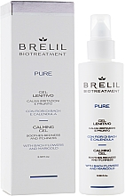Fragrances, Perfumes, Cosmetics Soothing Scalp Gel - Brelil Bio Traitement Pure Calming Gel