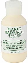 Fragrances, Perfumes, Cosmetics Hyaluronic Acid Face Moisturizer - Mario Badescu Hydrating Moisturizer With Biocare & Hyaluronic Acid