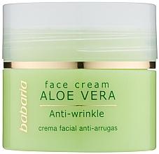 Fragrances, Perfumes, Cosmetics Aoe Vera Face Cream - Babaria Aloe Facial Wrinkle Cream