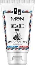 Fragrances, Perfumes, Cosmetics Shaving Gel - AA Men Beard Shaving Gel