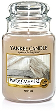 """Fragrances, Perfumes, Cosmetics Scented Candle """"Warm Cashmere"""" - Yankee Candle Warm Cashmere"""
