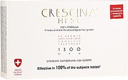 Fragrances, Perfumes, Cosmetics Men Re-Growth Anti Hair Loss Treatment 1300 - Labo Crescina Re-Growth Anti-Hair Loss Complete Treatment 1300 Man