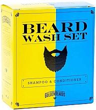 Fragrances, Perfumes, Cosmetics Set - Golden Beards Beard Wash Set (shm/100ml + cond/100ml)