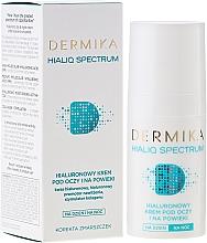 Fragrances, Perfumes, Cosmetics Eye Cream - Dermika Hialiq Spectrum Eye Cream