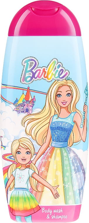 "2-in-1 Shower Gel-Shampoo ""Barbie Dreamtopia"" - Uroda For Kids Shampoo & Shower Gel"
