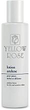 Fragrances, Perfumes, Cosmetics Azulene Lotion with Vitamin E & Allantoin for Dry & Sensitive Skin - Yellow Rose Lotion Azulene
